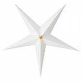 СТРОЛА Абажур для подвесн светильника, в полоску серый, 100 см