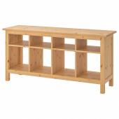 ХЕМНЭС Консольный стол, светло-коричневый, 157x40 см
