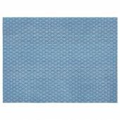 ГАЛЛЬРА Салфетка под приборы, синий, с рисунком, 45x33 см