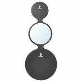 СОРХАССЕЛ Доска для записей, с магнитами, черный, 30x73 см