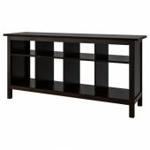 ХЕМНЭС Консольный стол, черно-коричневый, 157x40 см