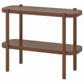 ЛИСТЕРБИ Консольный стол, коричневый, 92x38x71 см